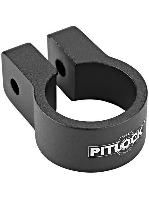 Pitlock Sattelklemme schwarz